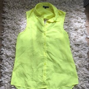 Express Neon Yellow Top